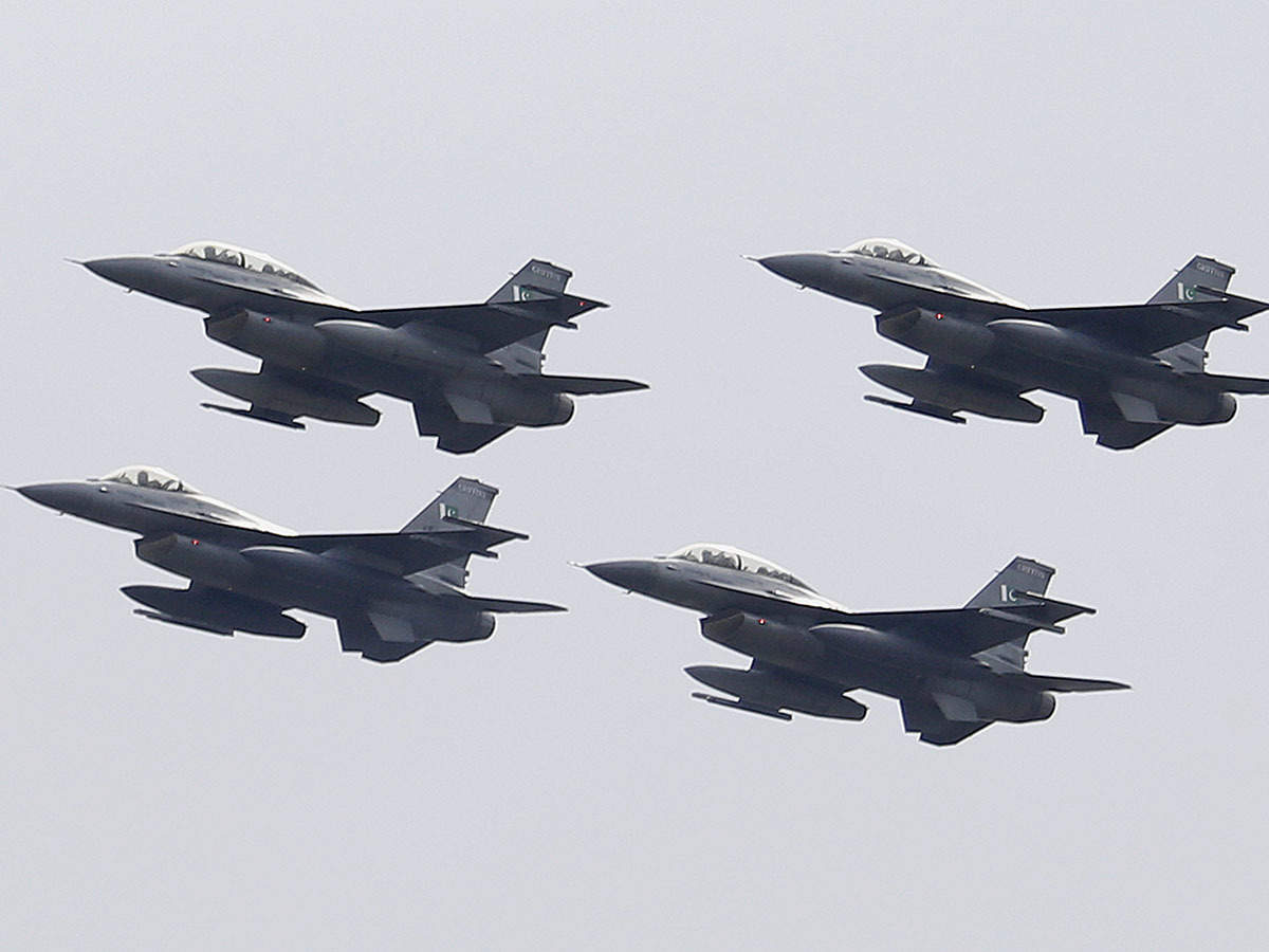 Pakistan F16 Us Count Of Pakistan S F 16s Fighter Jets Found None Of Them Missing Report
