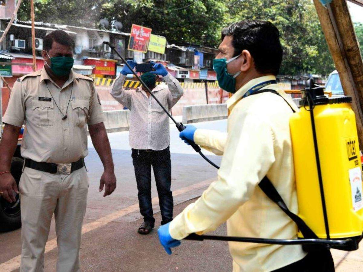 Spraying of disinfectant on people physically, psychologically harmful: Health ministry - The Economic Times