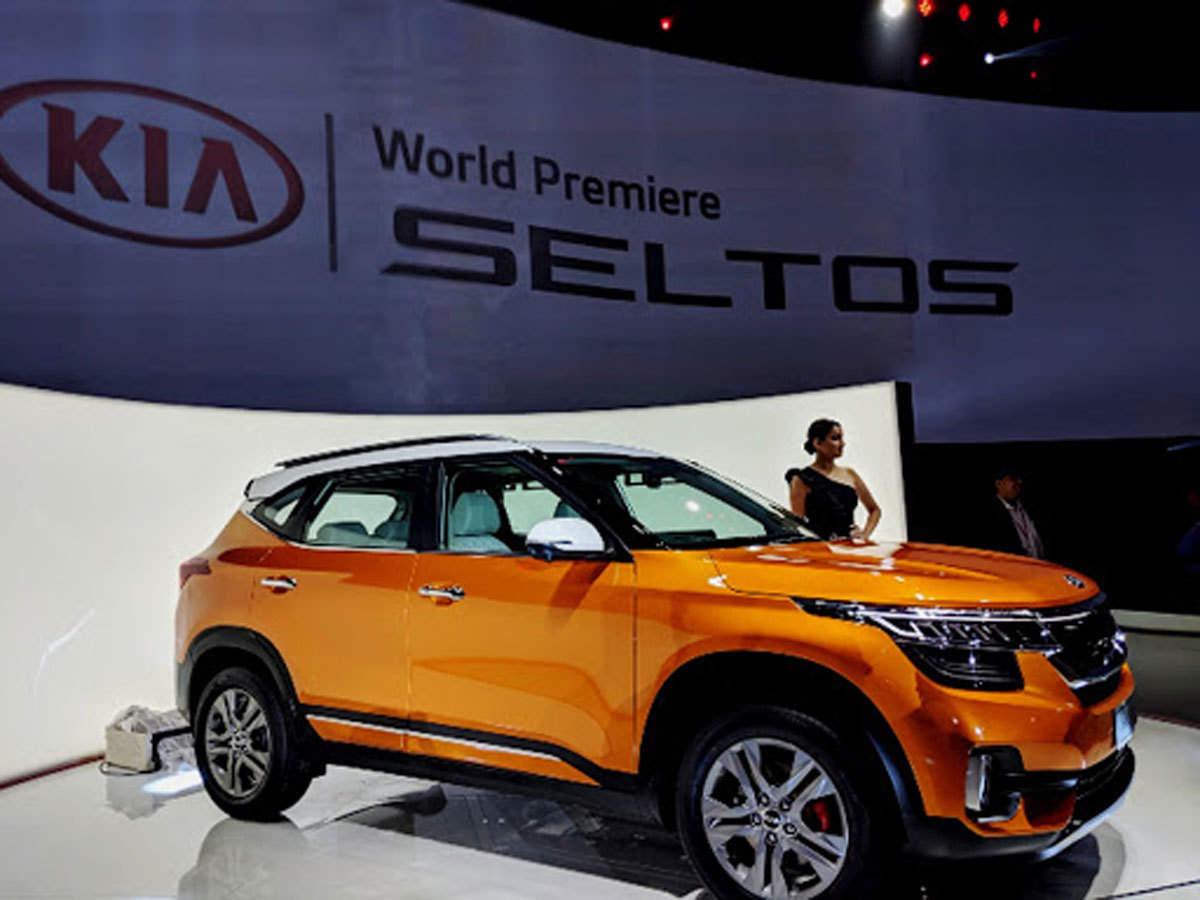 kia motors corporation makes global debut of suv seltos the economic times kia motors corporation makes global