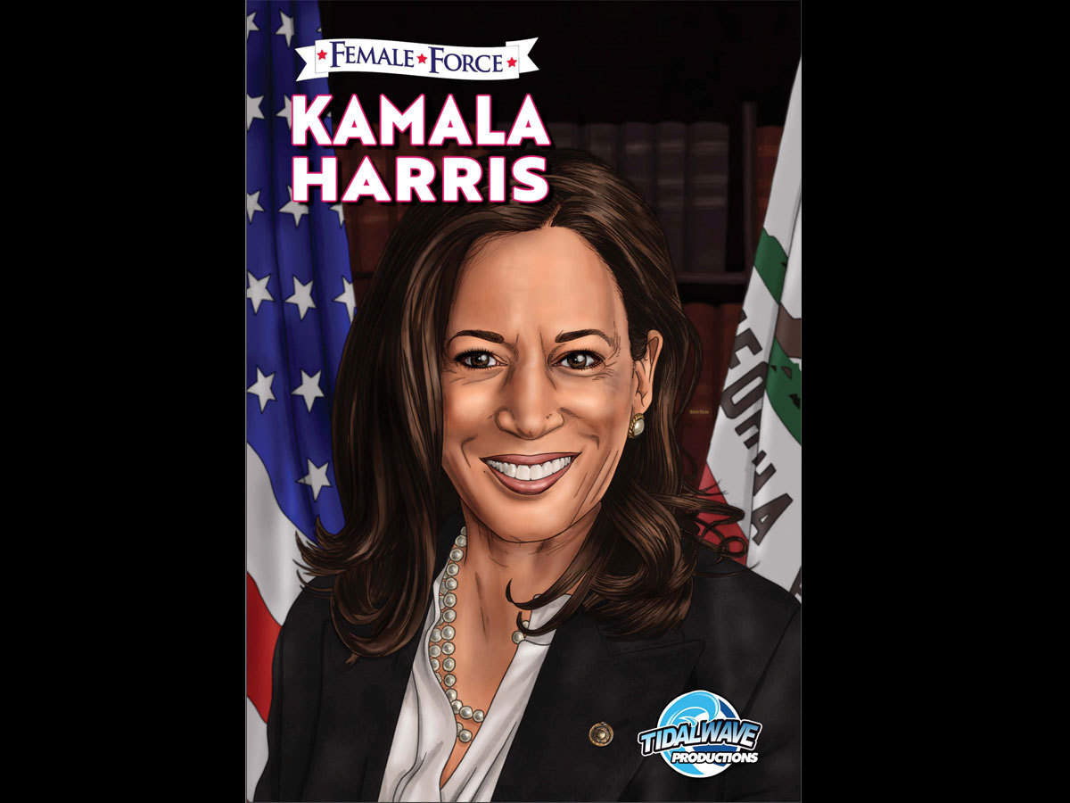 Kamala Harris Getting Her Own Comic Book As Birthday Gift Next Month The Economic Times