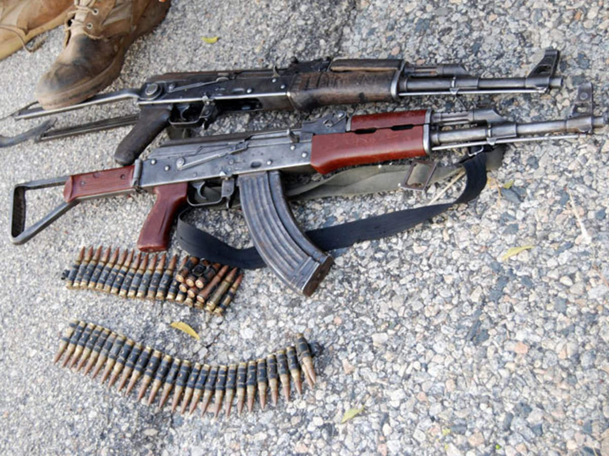 AK-47 maker in talks for joint venture in India to manufacture weapons -  The Economic Times