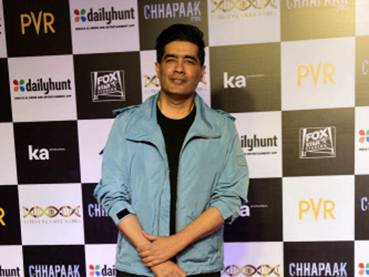 Karan Johar Takht Fashion Couturier Manish Malhotra Calls Cinema First Love Says He Would Love To Direct A Film Someday The Economic Times