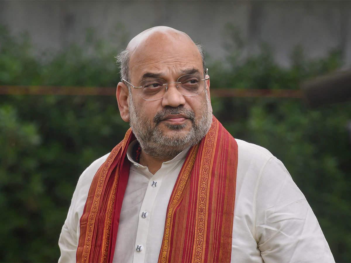 amit shah birthday: PM Modi wishes Amit Shah on his 56th birthday - The  Economic Times