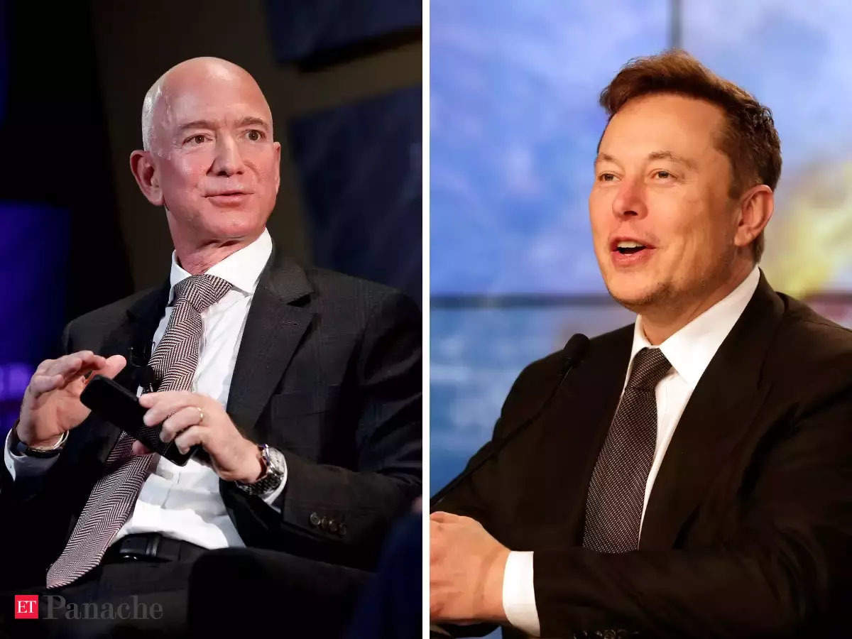 jeff bezos elon musk among billionaires gaining net worth in pandemic report the economic times jeff bezos elon musk among