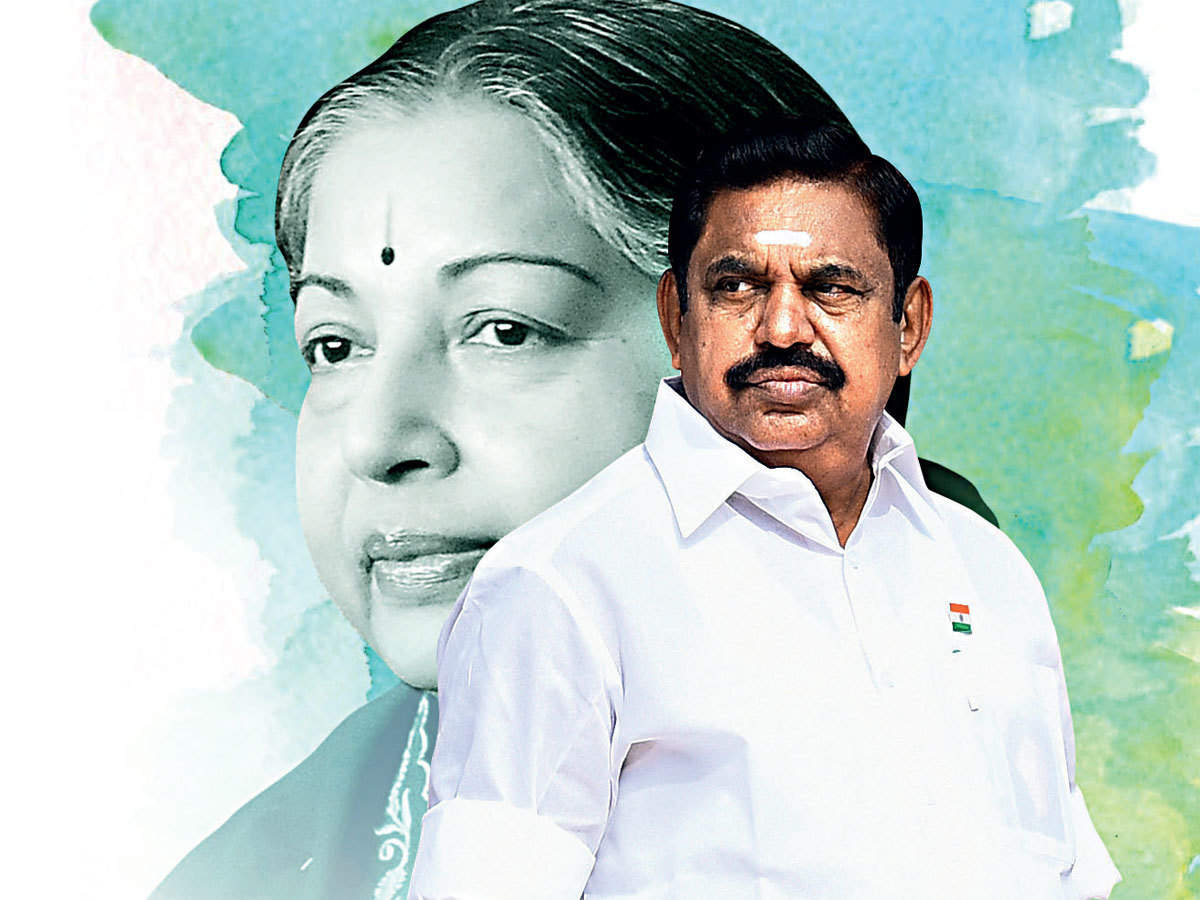 Out of Amma's shadow: CM Palaniswami's rise to AIADMK's undisputed leader - The Economic Times