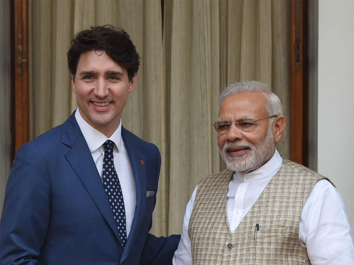 Canadian PM's outreach to India: Justin Trudeau dials PM Modi for vaccines - The Economic Times