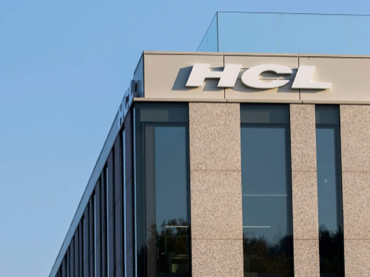 Hcl Tech Share Price Share Market Update It Shares In The Red Hcl Tech Dips 2 The Economic Times