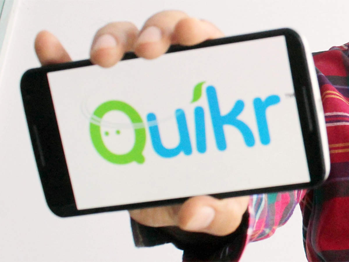 Quikr Launches New Brand Logo And Slogan Aasan Hai Badalna The Economic Times
