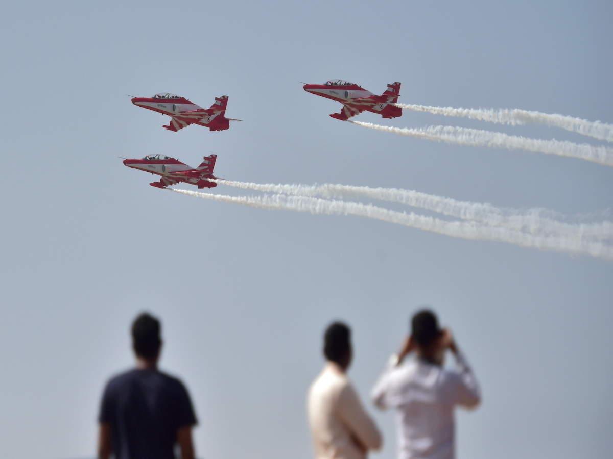 Aero India takes off on February 3 amidst Covid, buzz around 'Aatmanirbhar  Bharat' - The Economic Times