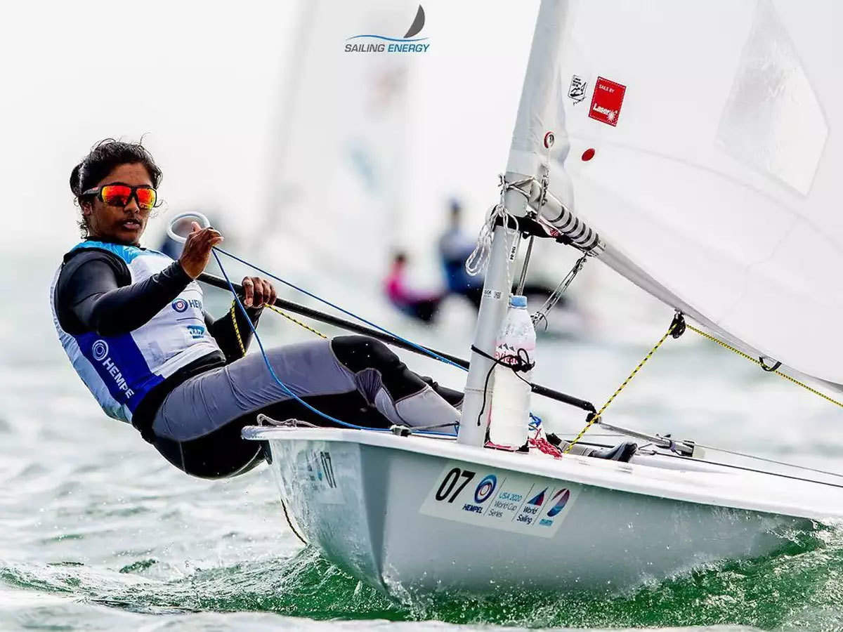 Nethra Kumanan becomes first Indian woman sailor to qualify for Olympics -  The Economic Times