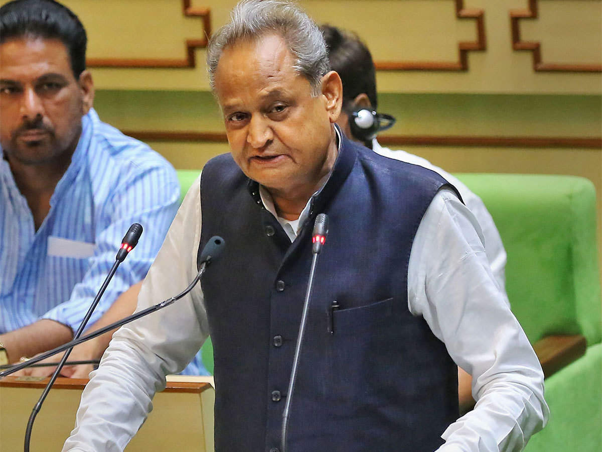 Rajasthan Budget: Gehlot announces Rs 1,000-cr farmers' welfare fund, infra  projects - The Economic Times