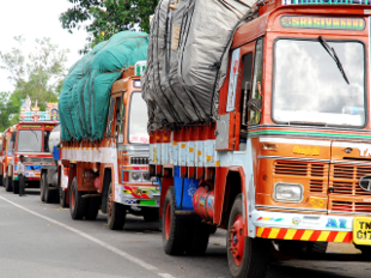 e-way bill: GST: Truck movement picks up pace as border check post starts disappearing - The Economic Times