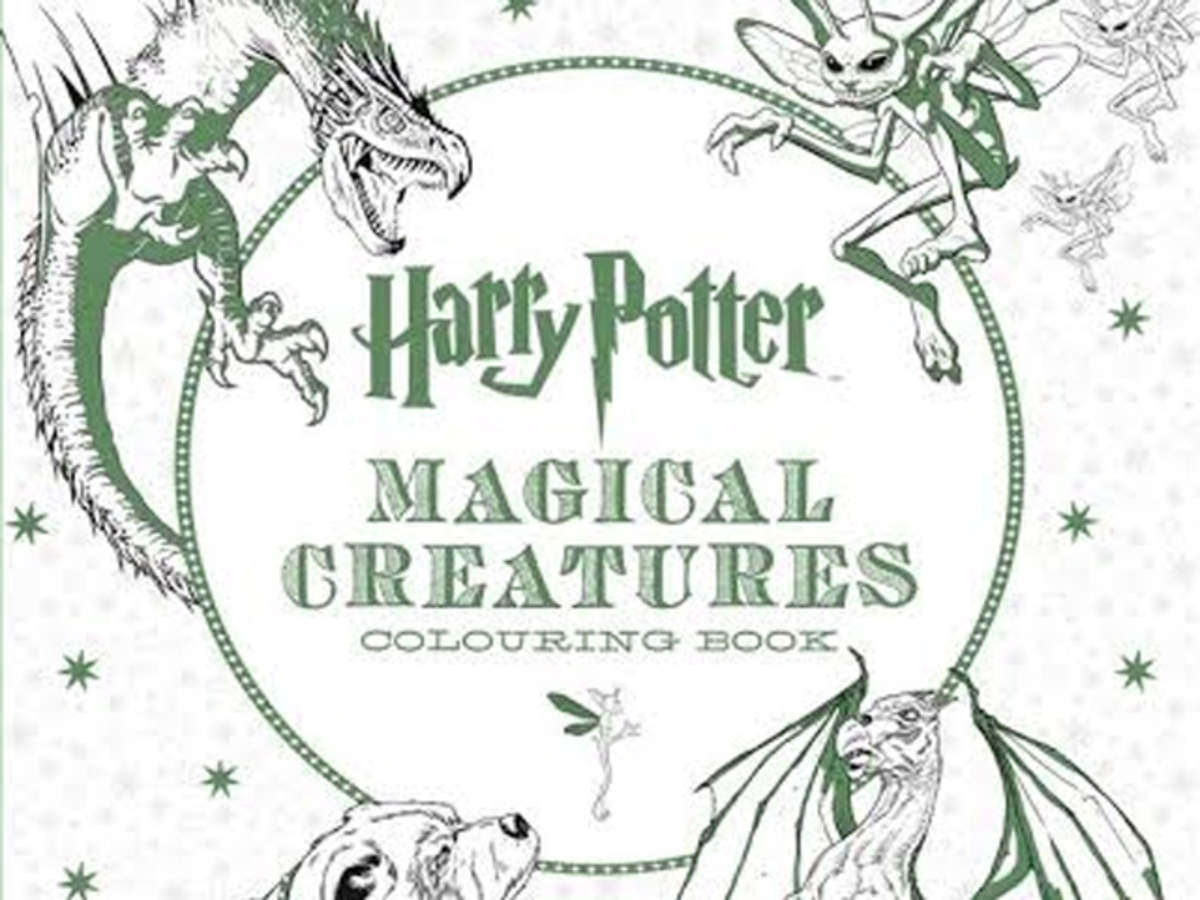 Now, Harry Potter colouring books for adults to beat some stress - The  Economic Times