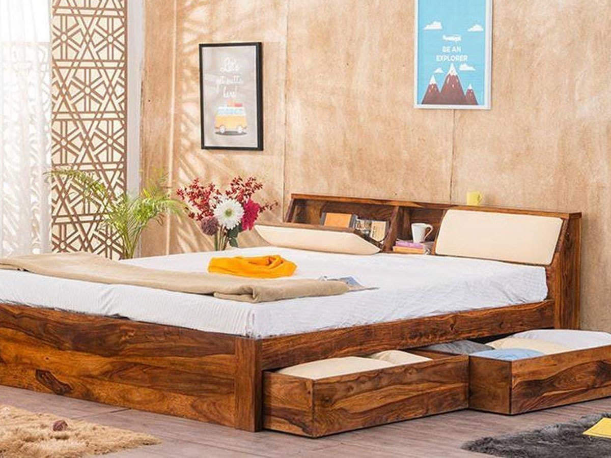 Picture of: Amazon Amazon Great Indian Festival 60 Off On King Size Bed 50 On Dining Table The Economic Times
