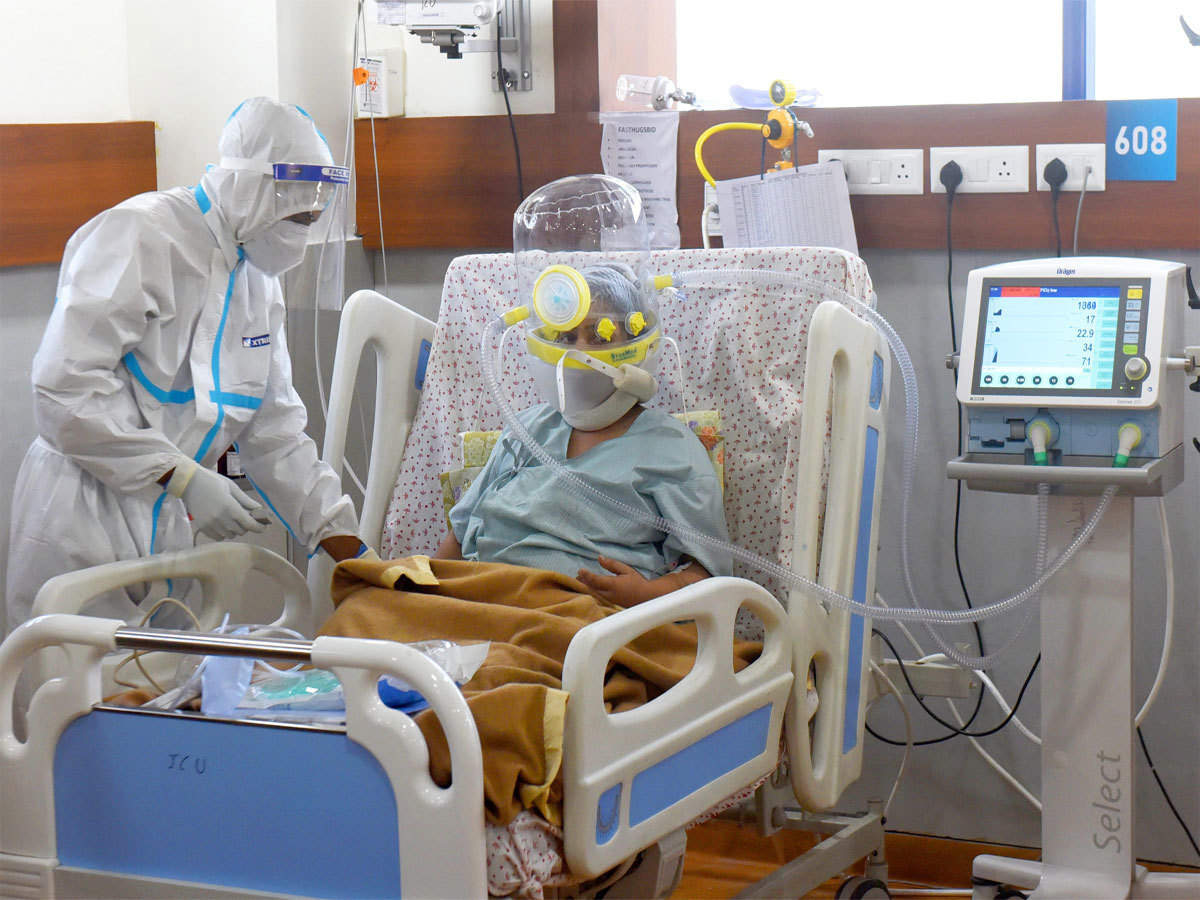 Critical non-Covid patients may suffer if 80% ICU beds are blocked: Delhi private hospitals - The Economic Times
