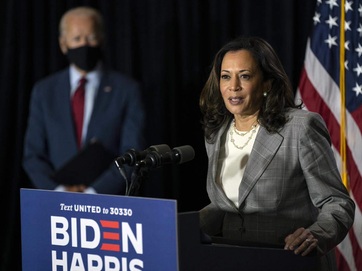 Kamala Harris Democratic Vice Presidential Candidate Kamala Harris Wants To Be President Donald Trump The Economic Times