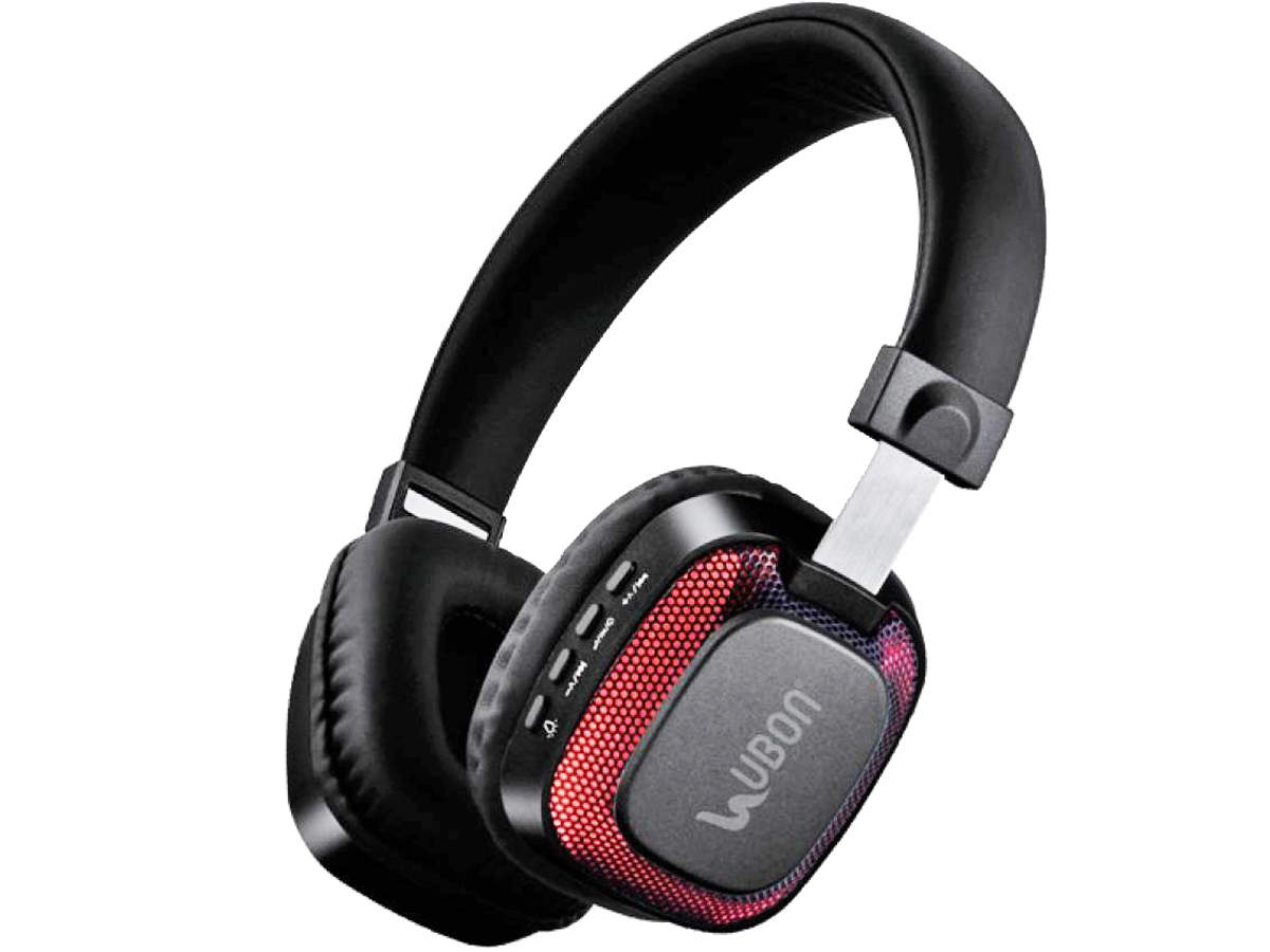 Headphones Ubon Bt5750 Light Up Bluetooth Headphones Review Volume Output Is Loud Bass Effect Is Good The Economic Times