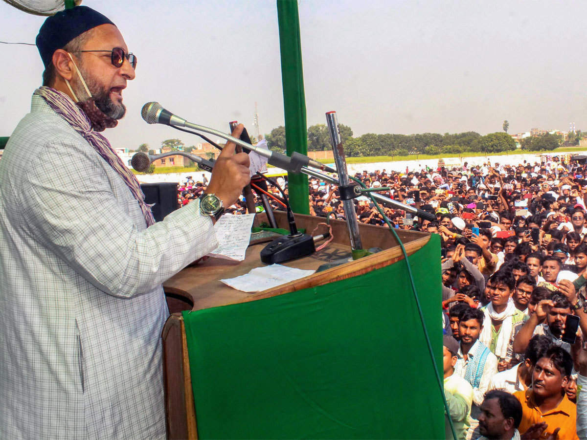 Asaduddin Owaisi's goodwill or winnability of Mahagathbandhan: Muslim votes  hold key in Bihar's Seemanchal region - The Economic Times
