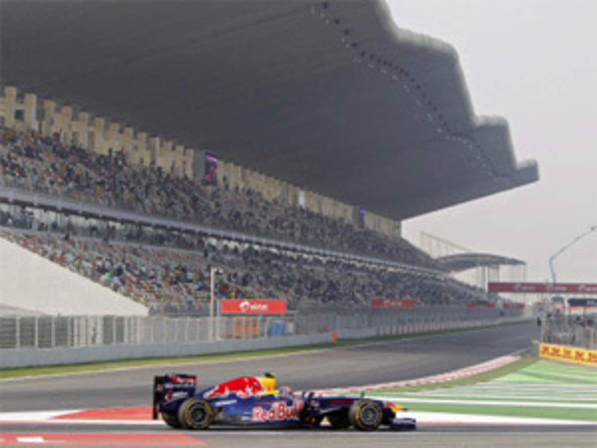 Formula 1 India Greater Noida Ready To Host India S First F1 Grand Prix The Economic Times