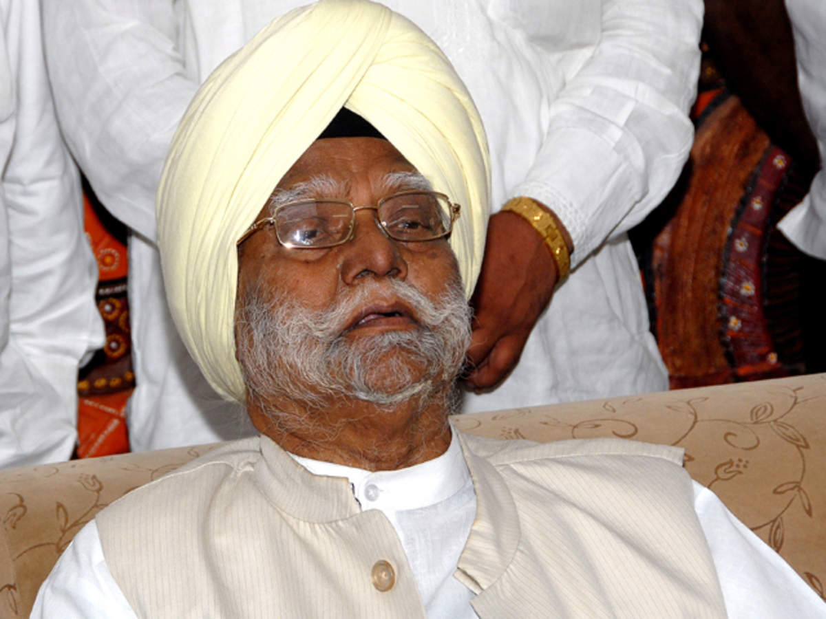Former Union Minister Buta Singh rejoins Congress - The Economic Times