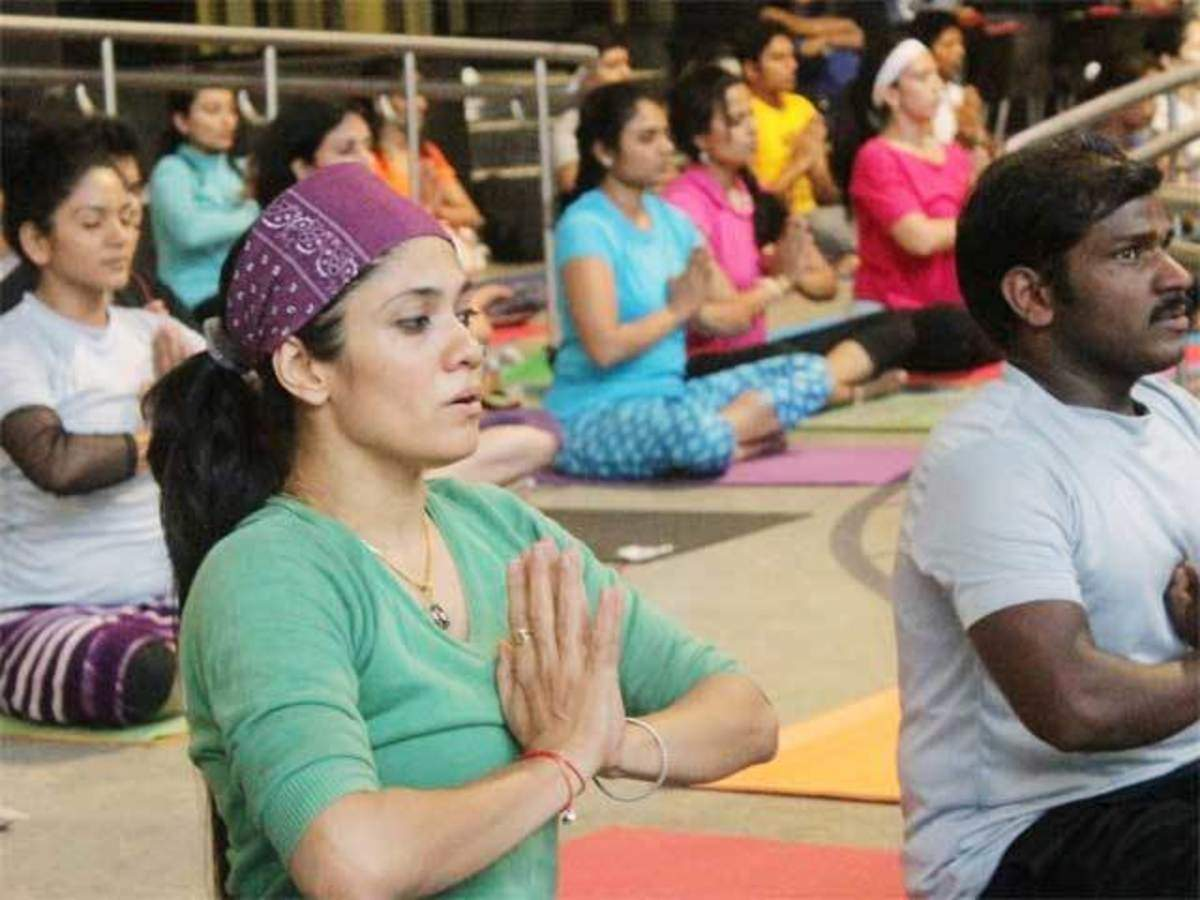 Gujarat Government To Celebrate World Yoga Day On A Grand Scale The Economic Times