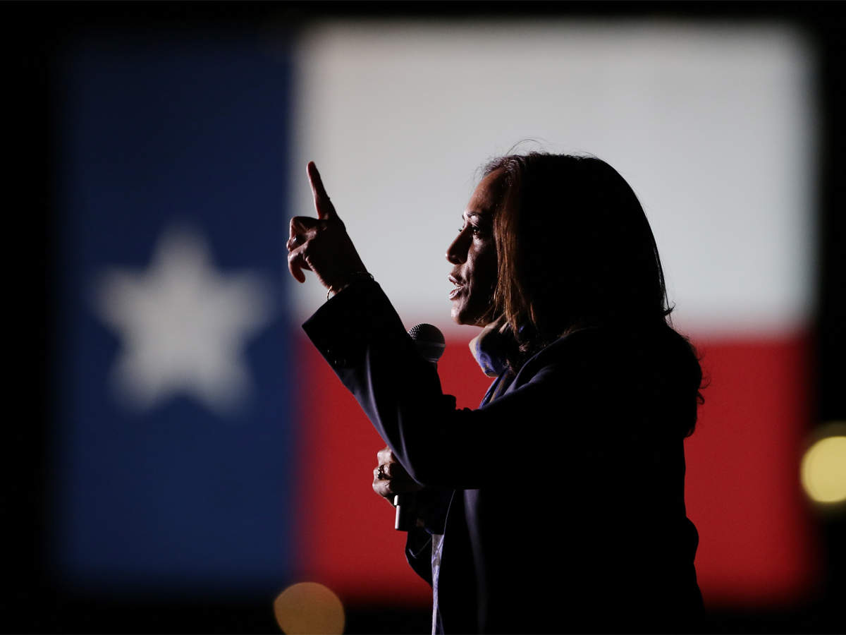 Kamala Harris On The Cusp Of Us Election History The Economic Times