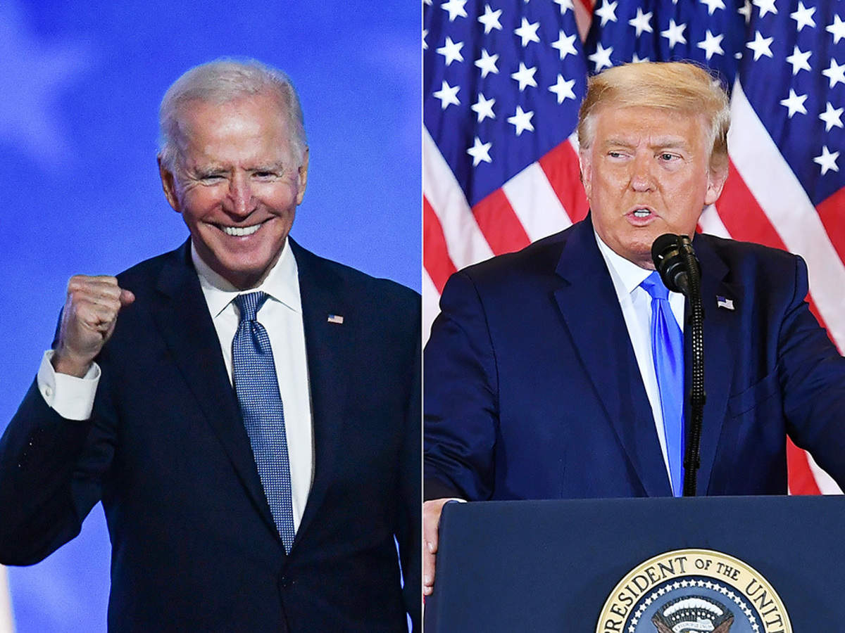 US polls: Trump vs. Biden: US election uncertainty may hit Indian market. Long-term investors must do this. - The Economic Times
