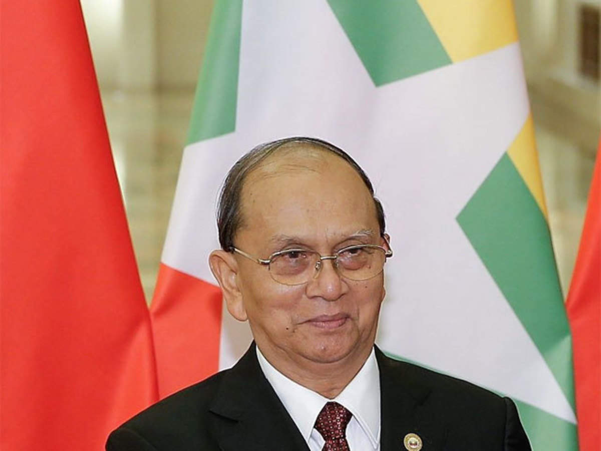 Myanmar president Thein Sein pushes peace plan in ethnic rebel ...