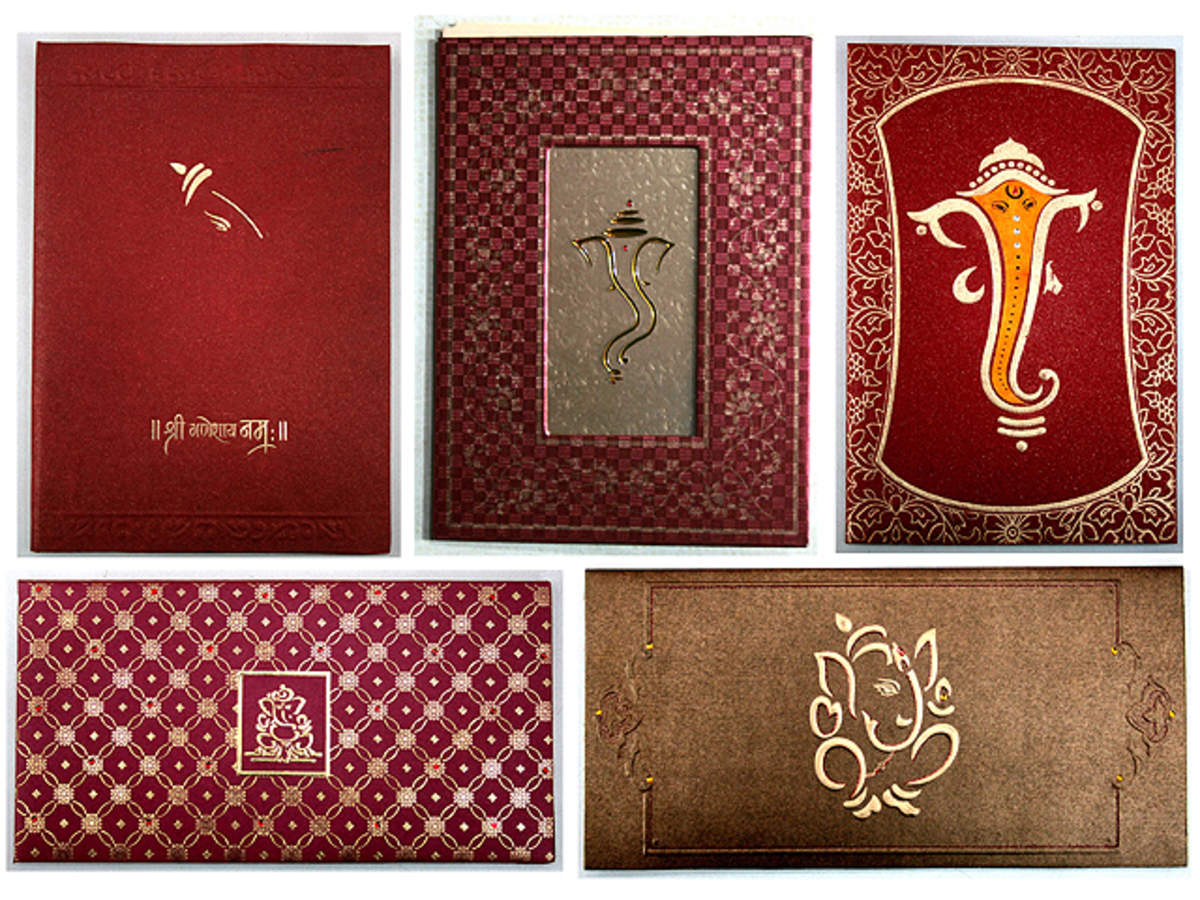 Designer Wedding Cards Carry More Than The Message The Economic Times