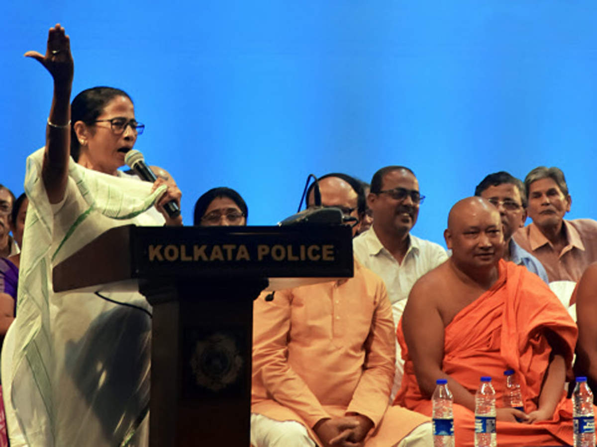 Image of article 'Taking on HM Amit Shah, West Bengal CM Mamata promises a bigger show'