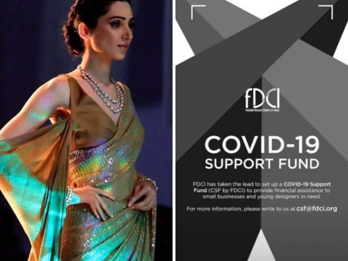 Fashion Design Council Of India For A Good Cause Manish Malhotra Sabyasachi Tarun Tahiliani Join Hands To Raise Funds For Covid 19 The Economic Times