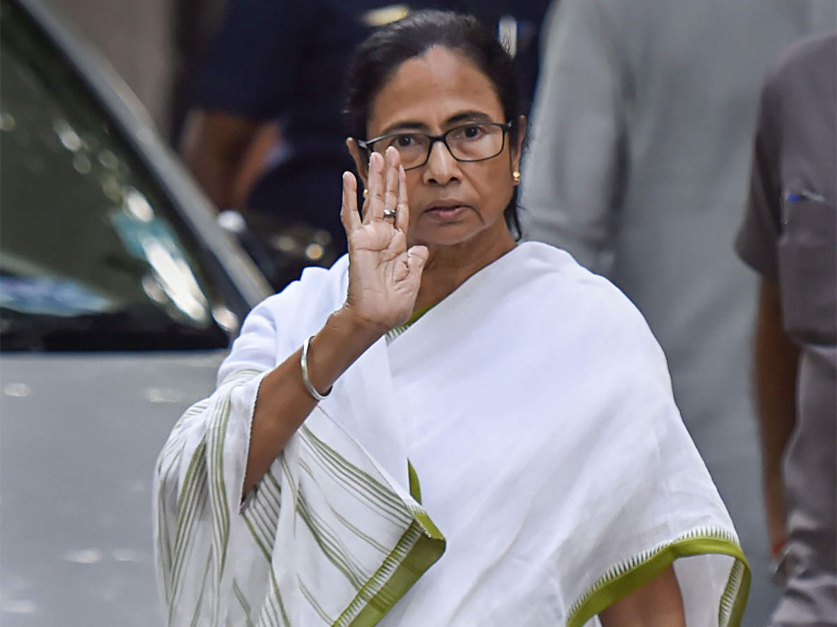 TMC: Mamata Banerjee grieves death of 22 security personnel in  Chhattisgarh; slams BJP - The Economic Times