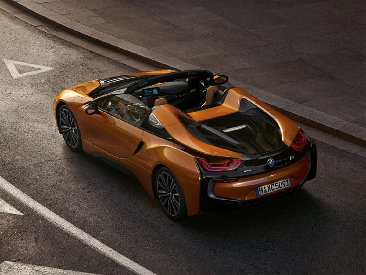 Bmw I8 Roadster Bmw S New 163 300 Extremely Drivable I8 Roadster Will Get You A Whole Lot Of Positive Attention The Economic Times