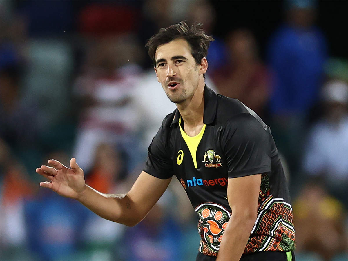 Mitchell Starc to miss final two T20Is against India due to illness in  family - The Economic Times