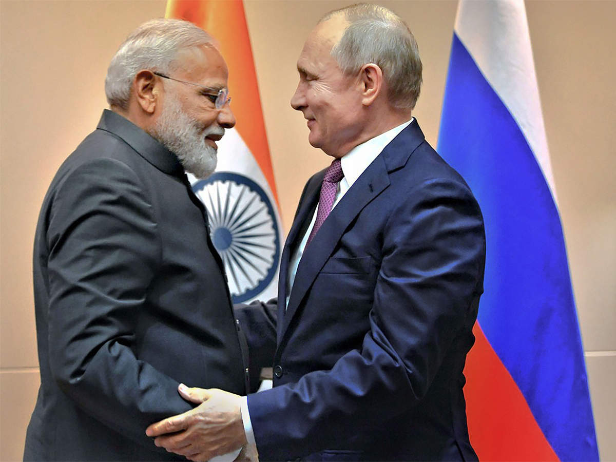 Vladimir Putin Invites Indian Companies To Mineral Rich Arctic Russia The Economic Times
