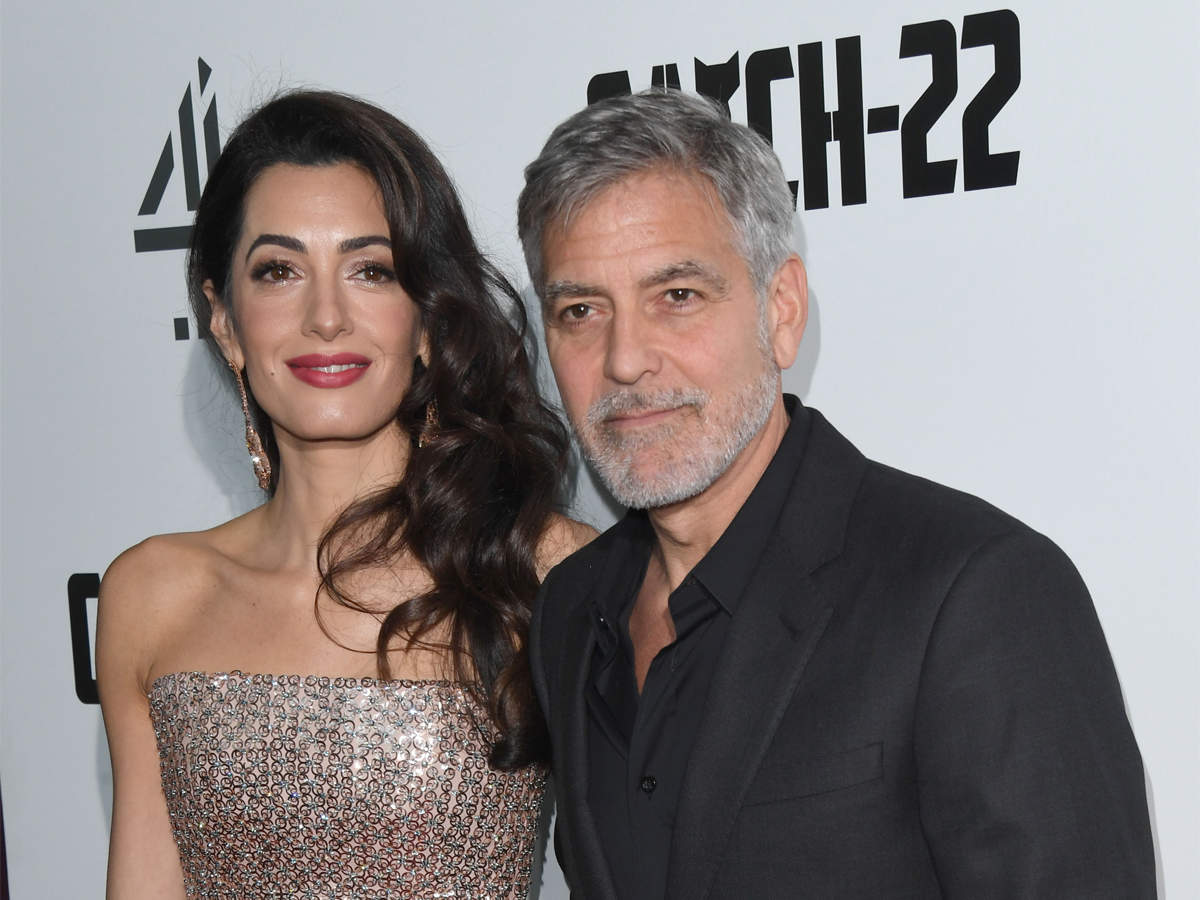 George Amal Clooney Donate Over 1 Mn Towards 6 Funds For Coronavirus Relief The Economic Times