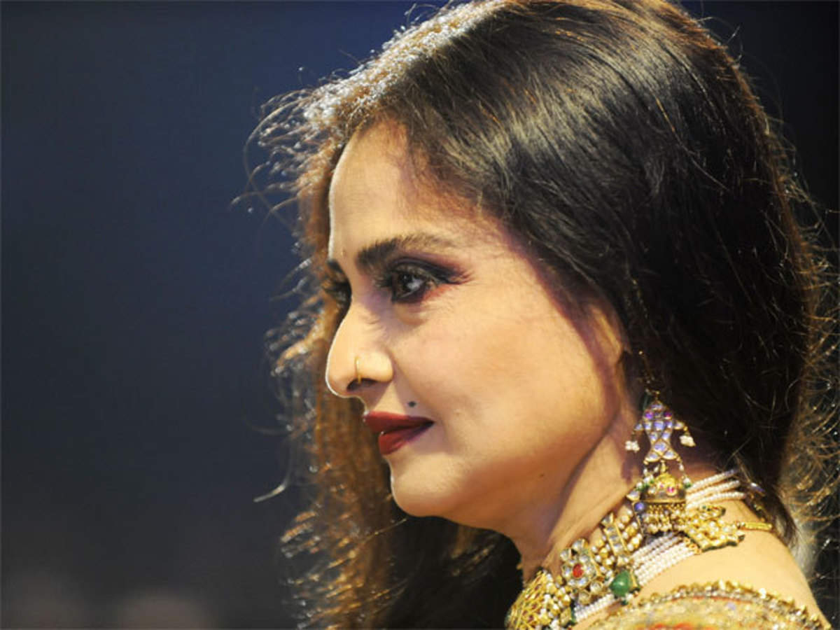 Happy Birthday, Rekha! Vintage diva going strong at 62 - The Economic Times