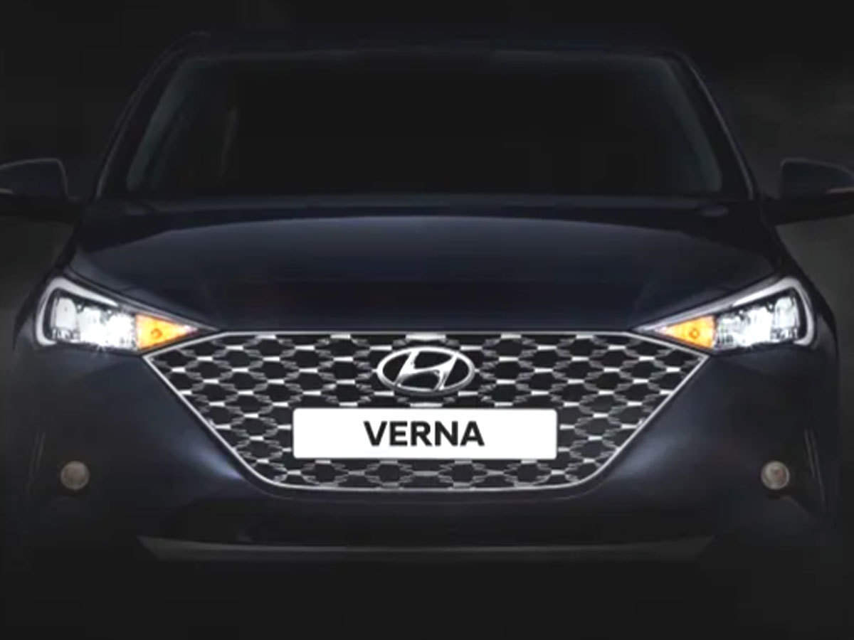 Hyundai Verna 2020 Features Hyundai Verna 2020 Coming Here S What We Know So Far About The New Sedan The Economic Times