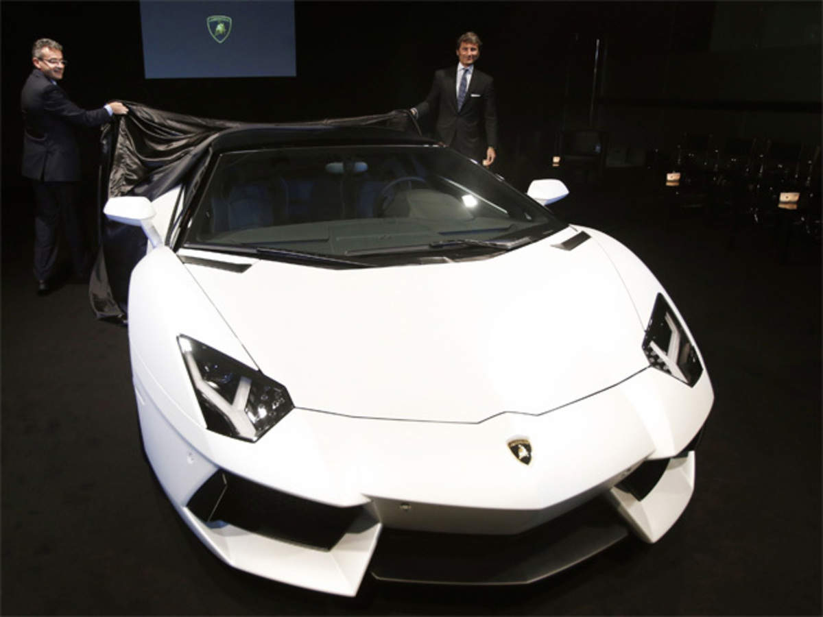 As Population Of Super Luxury Cars Like Lamborghini Zooms Owners Do Bizarre Things To Make Them Stand Out The Economic Times