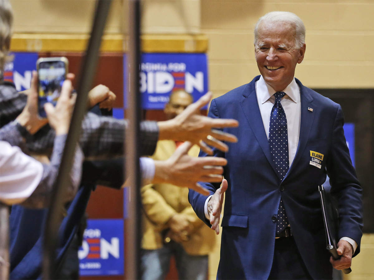 Joe Biden Joe Biden S Low Key Campaign Style Worries Some Democrats As Trump Resumes Large Scale Rallies The Economic Times