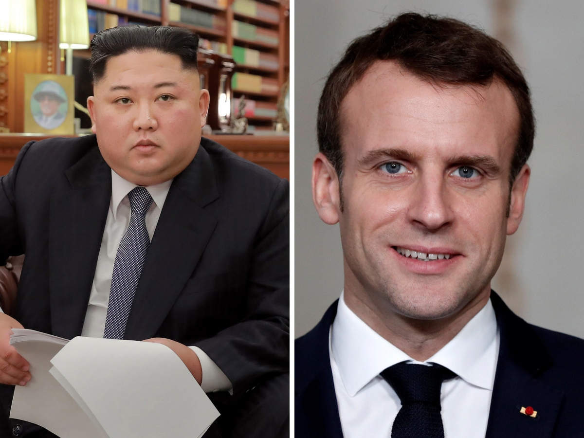 Kim Jong Un When New Year Messages From Kim Jong Un Emmanuel Macron Struck The Right Notes The Economic Times