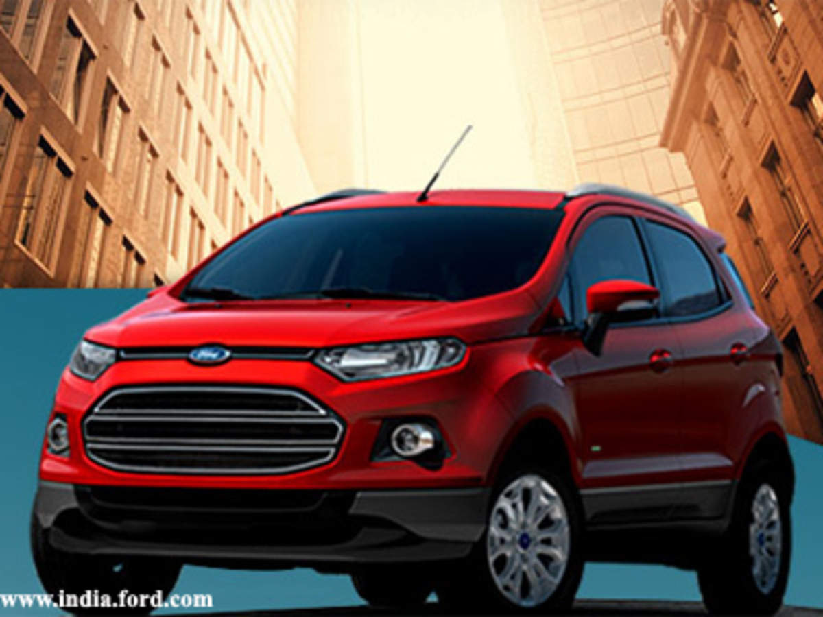 Ford Ecosport Suv Launched At A Starting Price Of Rs 5 59 Lakh The Economic Times