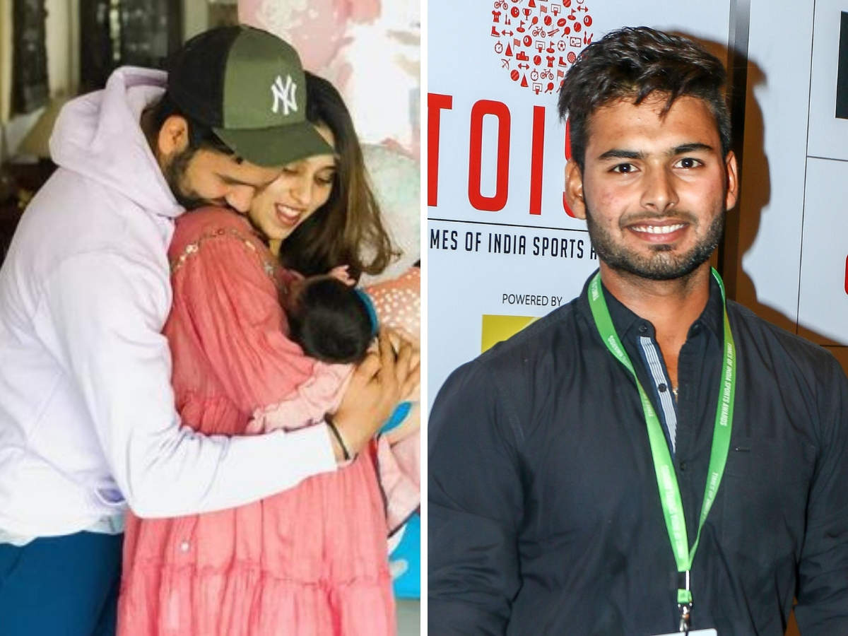 Now Rohit Sharma Wants Rishabh Pant To Turn Babysitter For Daughter Samaira The Economic Times