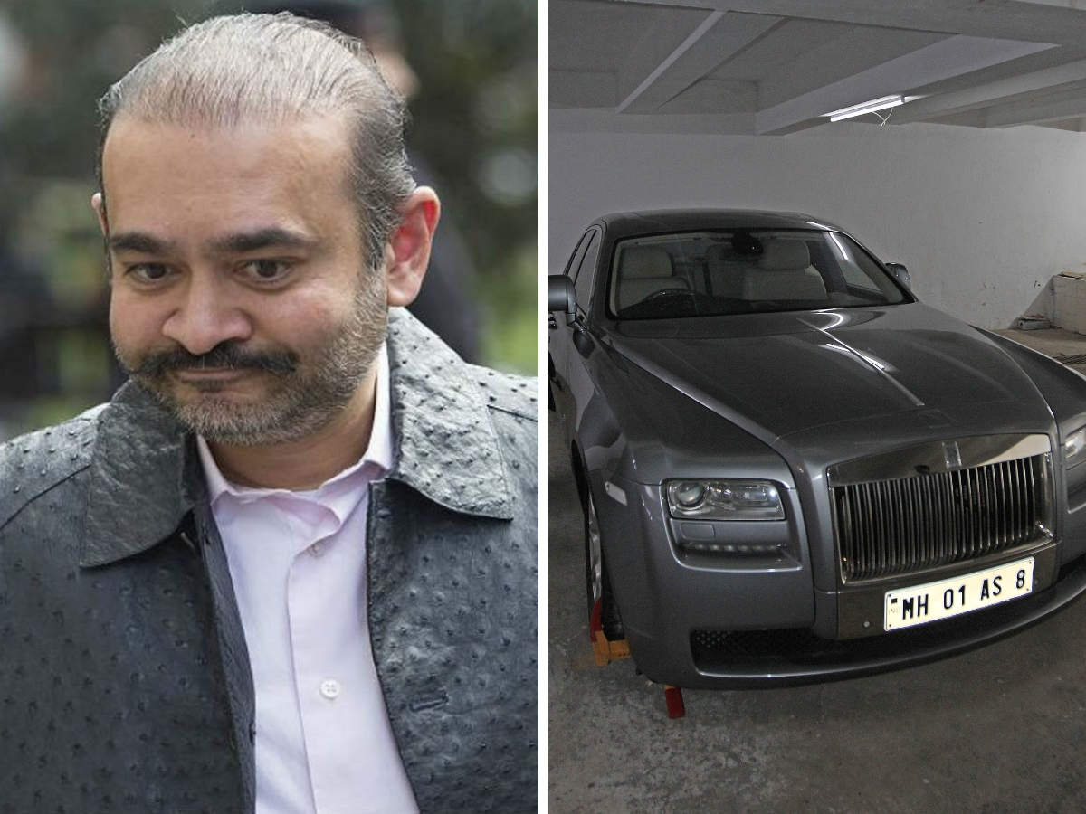 Nirav Modi Nirav Modi S Rolls Royce Ghost That Once Carried His Dogs Around Town Goes Under The Hammer