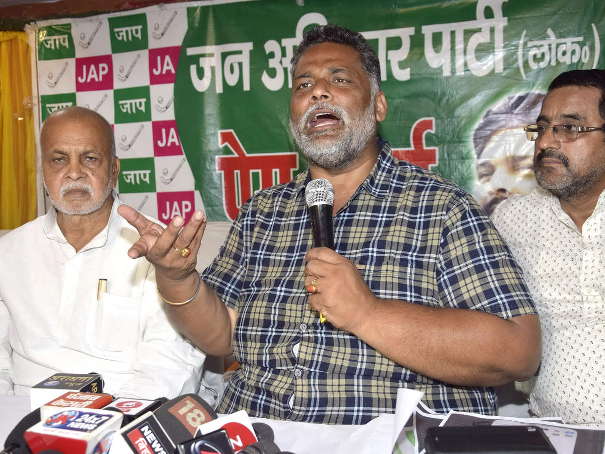 Pappu Yadav's meeting with top Congress leader in Bihar causes ...
