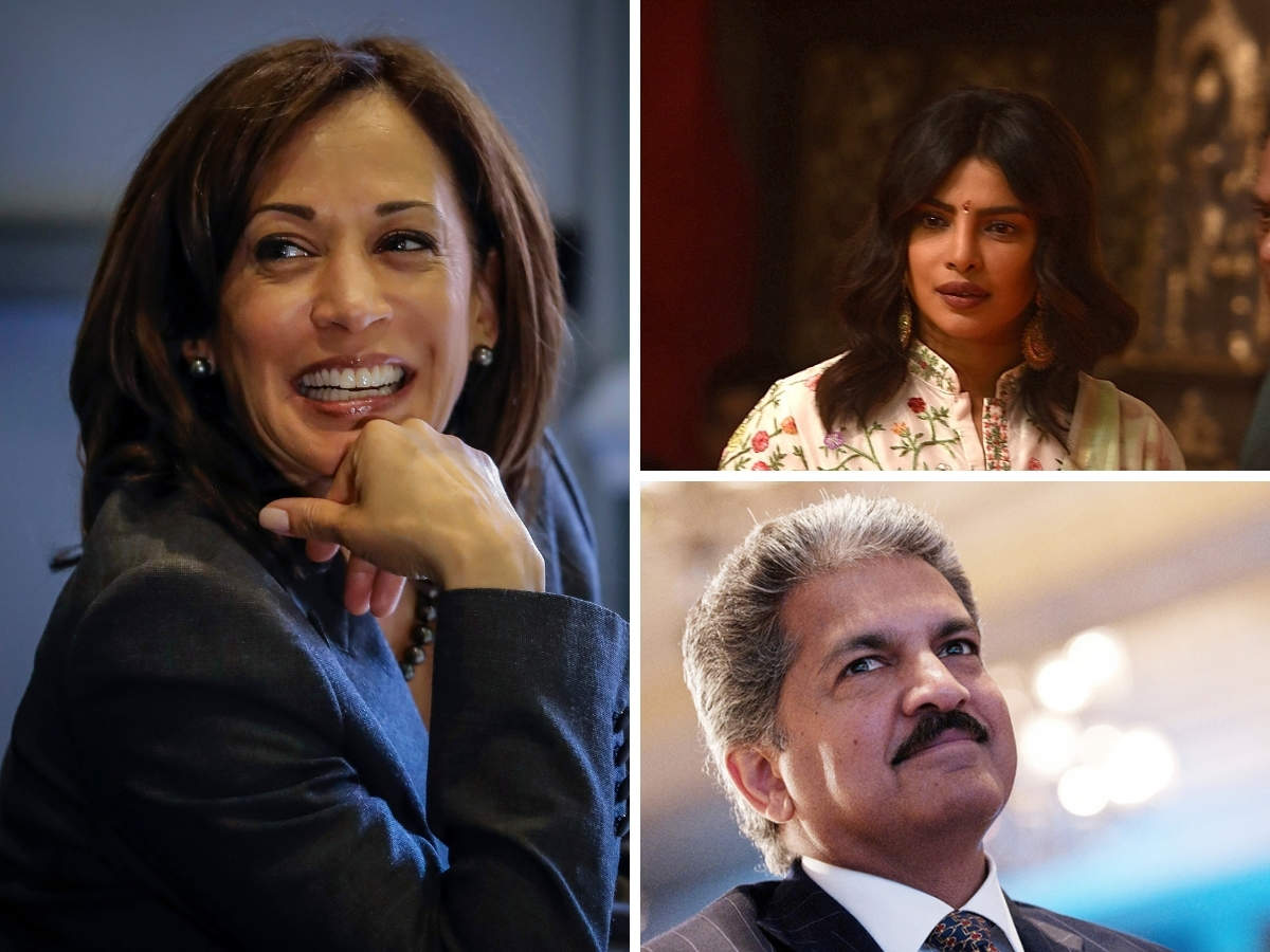 Kamala Harris Anand Mahindra Kamala Harris Gets V P Nod India Celebrates On Twitter Mahindra Says She Epitomises The Ideal World Peecee Calls It A Proud Moment