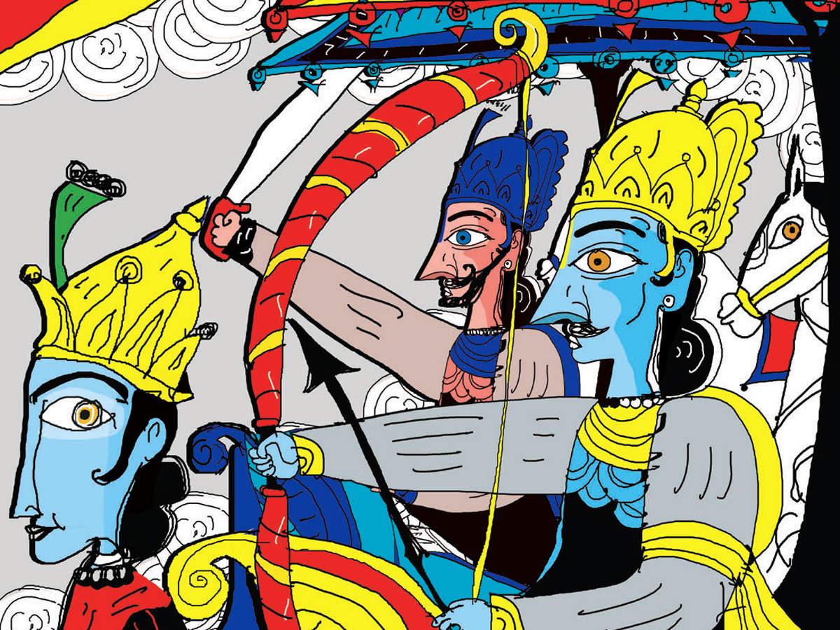 Mahabharata: View: Mahabharata mocks and celebrates foundational beliefs of  society