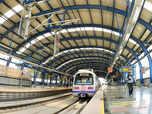 Delhi Metro helps prevent global warming