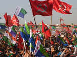 Bengal grand alliance rally, but cracks show