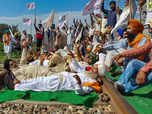 Farmers protest: Trains movement disrupted